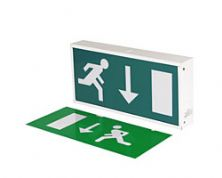 Emergency Fire Exit Illuminated Sign